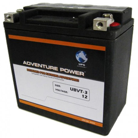UBVT-3 Motorcycle Battery replaces 65958-04A for Harley
