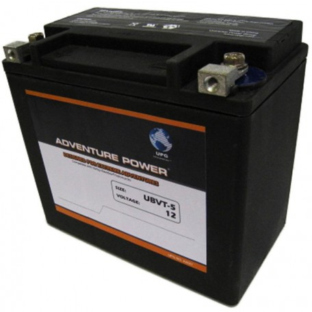 Adventure Power UBVT-5 (YTX20-BS  65991-82) (12V, 19AH) Motorcycle Battery