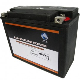 UBVT-6 Motorcycle Battery replaces 66010-82A for Harley