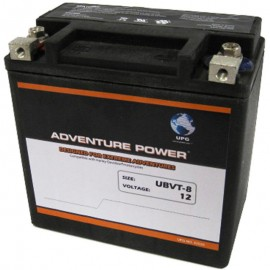 Adventure Power UBVT-8 (YTX14-BS  65948-00) 12V, 12AH Motorcycle Battery