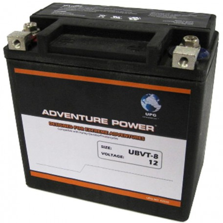 UBVT-8 Motorcycle Battery replaces 65948-00 fits Harley