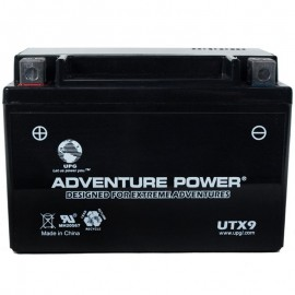 Adventure Power UTX9 (YTX9-BS) (12V, 8AH) Motorcycle Battery