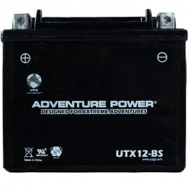 Adventure Power UTX12-BS (YTX12-BS) (12V, 10AH) Motorcycle Battery