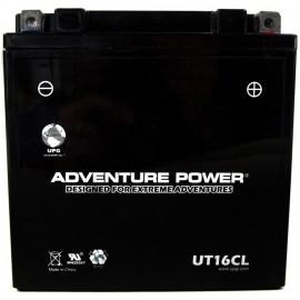 Adventure Power UT16CL (YB16CL-B) (12V, 19AH) Motorcycle Battery