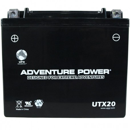 Adventure Power UTX20 (YTX20) (12V, 18AH) Motorcycle Battery