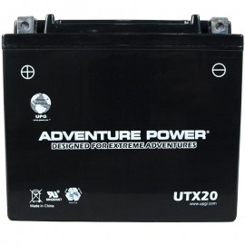 Arctic Cat 0645-480 Snowmobile Sealed AGM Replacement Battery