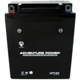 Adventure Power UT12C (YB12A-A) (12V, 12AH) Motorcycle Battery