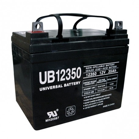 Pride Mobility BATLIQ1001 AGM 12 Volt, 32 Ah U1 Replacement Battery