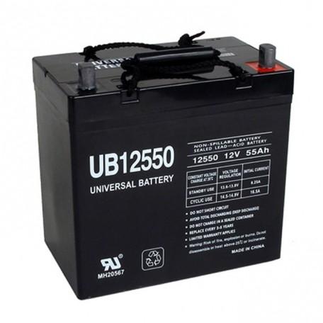 Pride Mobility BATLIQ1018 AGM 22-NF 12 Volt, 55 Ah Replacement Battery