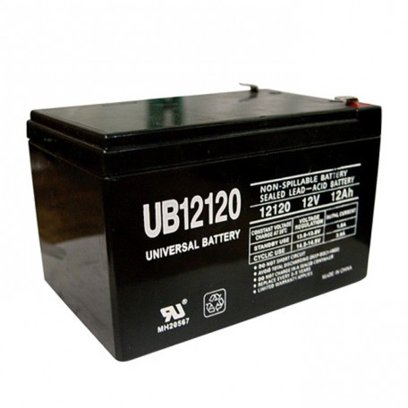 Quickie BAT12 AGM 12 Volt, 12 Ah Replacment Battery