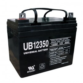 Quickie BATU1 AGM 12 Volt, 35 Ah U1 Replacement Battery