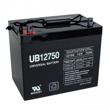 Quickie BAT24 GP 24 AGM 12 Volt, 75 Ah Replacement Battery