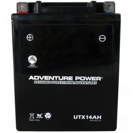 2008 Yamaha Big Bear 250 YFM25B, YFM250B ATV Sealed Battery Replacement