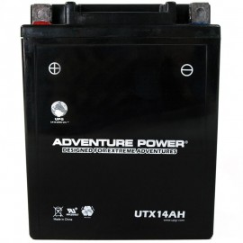 Adventure Power UTX14AH (YTX14AH) (12V, 14AH) Motorcycle Battery