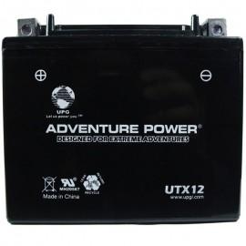 Adventure Power UTX12 (YTX12-BS) (12V, 10AH) Motorcycle Battery