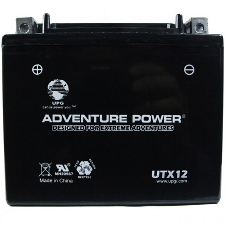 Suzuki DR650S ER, ES Replacement Battery (1994-1995)