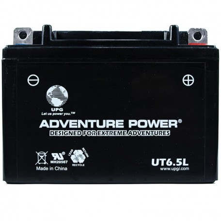 Adventure Power UT6.5L (12N6.5-3B) (12V, 6.5AH) Motorcycle Battery