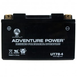 Adventure Power UT7B-4 (YT7B-BS) (12V, 6.5AH) Motorcycle Battery