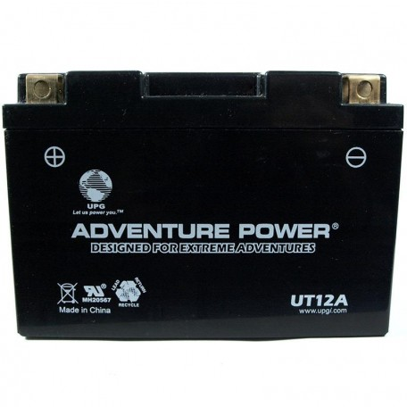 Adventure Power UT12A  (YT12A-BS) (12V, 9.5AH) Motorcycle Battery