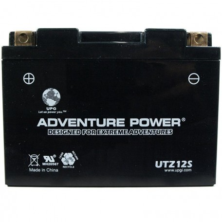 Adventure Power UTZ12S (YTZ12S) (12V, 11AH) Motorcycle Battery