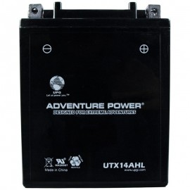 Kawasaki KL650-A, E, KLR Replacement Battery (1987-2008)