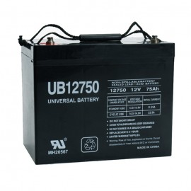 Universal Power UB12750 (Group 24) 12 Volt, 75 Ah AGM UPS Battery