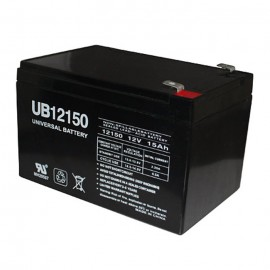 Universal Power UB12150 12 Volt, 15 Ah Sealed AGM Battery