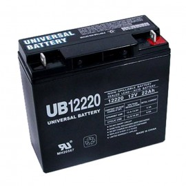 Universal Power UB12220 12 Volt, 22 Ah Sealed AGM Battery