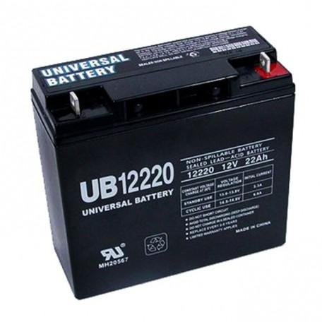 Universal Power UB12220 12 Volt, 22 Ah Sealed AGM Battery
