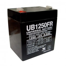 Universal Power UB1250FR 12 Volt, 5 Ah Flame Retardant Battery