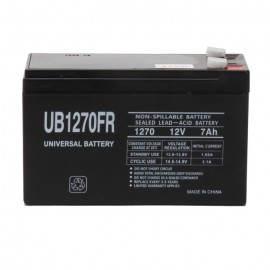 Universal Power UB1270FR 12 Volt, 8 Ah Flame Retardant Battery