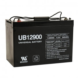 Universal Power UB12900 (Group 27) 12 Volt, 90 Ah AGM UPS Battery