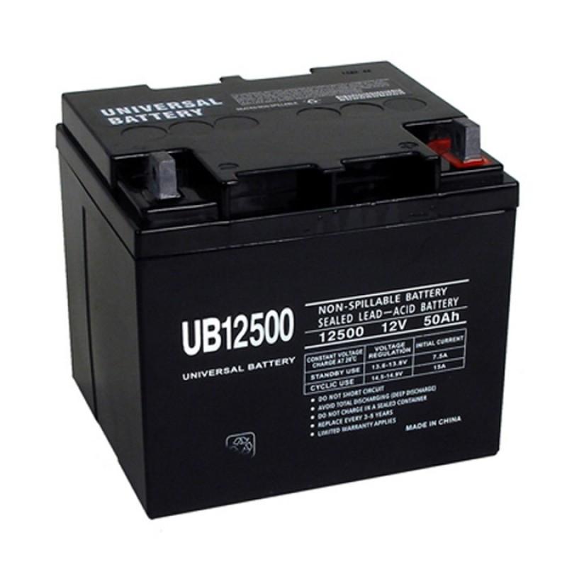universal power ub12500 12 volt 50 ah sealed agm battery. Black Bedroom Furniture Sets. Home Design Ideas
