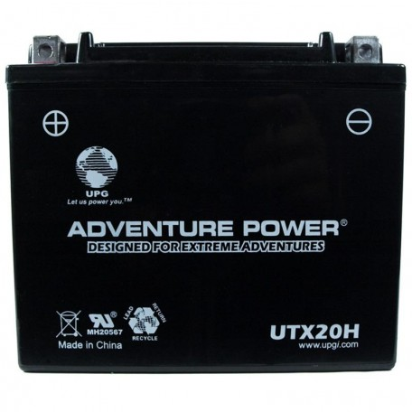 Adventure Power UTX20H (YTX20H-BS) (12V, 18AH) Motorcycle Battery
