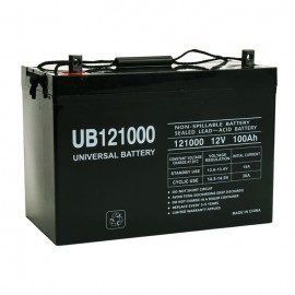 Universal Power UB121000 (Group 27) 12 Volt, 100 Ah AGM Battery