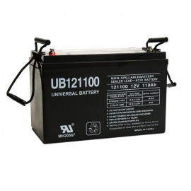Universal Power UB121100 (Group 30H) 12 Volt, 110 Ah AGM Battery