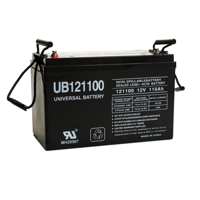 universal power ub121100 group 30h 12 volt 110 ah agm. Black Bedroom Furniture Sets. Home Design Ideas
