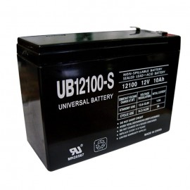 Universal Power UB12100-S 12 Volt, 10 Ah Sealed AGM Battery