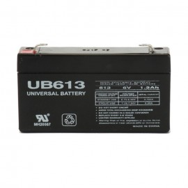 Universal Power UB613 6 Volt, 1.3 Ah Sealed AGM Battery
