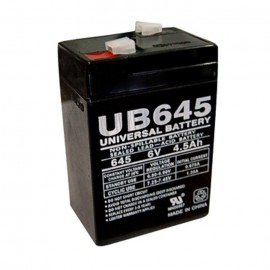 Universal Power UB645 6 Volt, 4.5 Ah Sealed AGM Battery