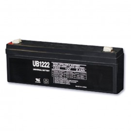 Universal Power UB1222 12 Volt, 2.2 Ah Sealed AGM Battery