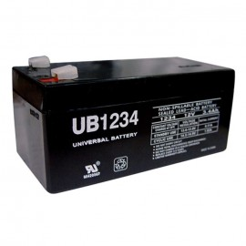 Universal Power UB1234 12 Volt, 3.4 Ah Sealed AGM Battery