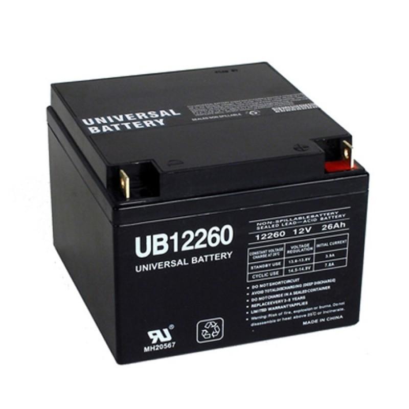 Universal Power Ub12260 12 Volt 26 Ah Sealed Agm Ups Battery