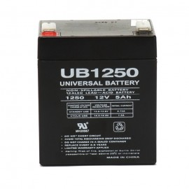 Universal Power UB1250 12 Volt, 5 Ah Sealed AGM .250 tab UPS Battery