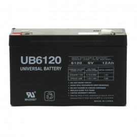 Universal Power UB6120 6 Volt, 12 Ah Sealed AGM Battery