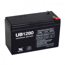 Universal Power UB1280 12 Volt, 8 Ah Sealed AGM .250 tab UPS Battery