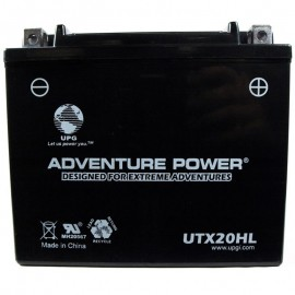 Adventure Power UTX20HL (YTX20HL-BS) 12V, 18AH Motorcycle Battery