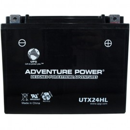 Adventure Power UTX24HL (YTX24HL-BS) (12V, 21AH) Motorcycle Battery