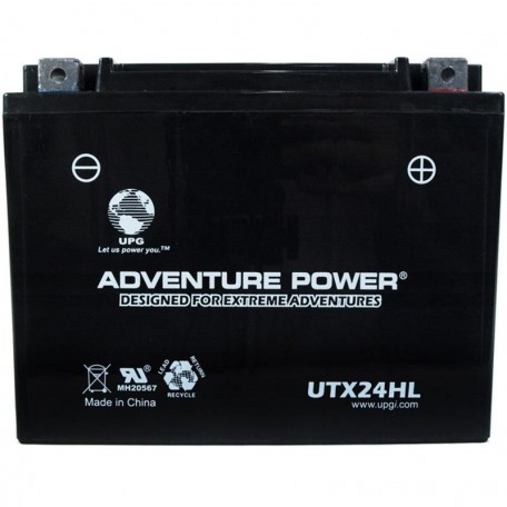 Arctic Cat 0436-183 Snowmobile Sealed Replacement Battery Upgrade