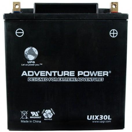 Adventure Power UIX30L (YIX30L) (12V, 30AH) Motorcycle Battery